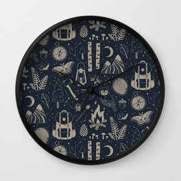 Into the Woods: Stargazing Wall Clock