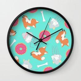 Toxic Breakfast Wall Clock