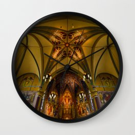 Cathedral Of The Madeleine 2 - Utah Wall Clock