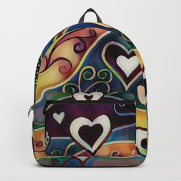 Funky Hearts Backpack