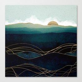 Indigo Waters Canvas Print