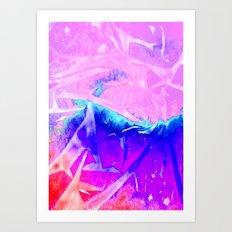 Aurora 3 - Ultraviolet Art Print