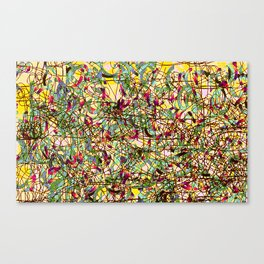 Emotional Map #23 Canvas Print
