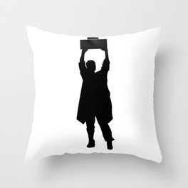 Say Anything - Boombox Throw Pillow