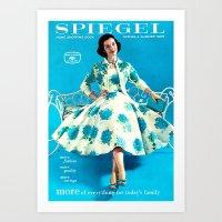 1958 Spring/Summer Spiegel Catalog Art Print