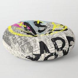 GRUNGE ROCK ART Floor Pillow