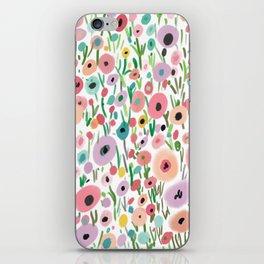 in the garden2 iPhone Skin