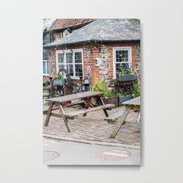 Adam & Eve pub in the city of Norwich Metal Print