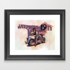 OH! MY BARN! Framed Art Print