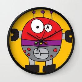 Circle Robot Wall Clock