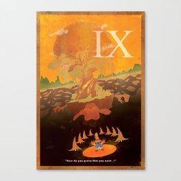 Vintage FF Poster IX Canvas Print