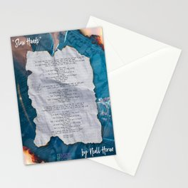 SLOW HANDS Stationery Cards