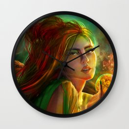 Marry the poisoned night Wall Clock