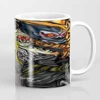death note Mugs featuring Death Note by SpontaneousOD