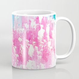 Pink and Aqua Coffee Mug
