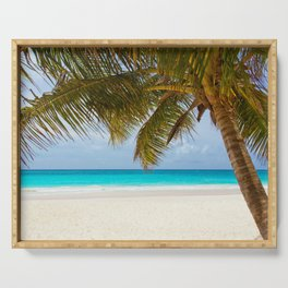 Tropical Beach Serving Tray