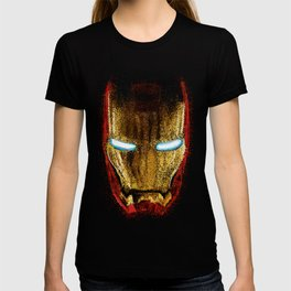 Iron Man Pointillism T-shirt