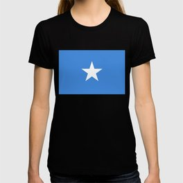 Somalian national flag - Authentic color and scale (high quality file) T-shirt