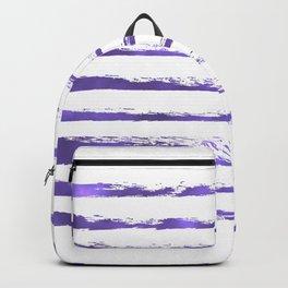 Ultraviolet brush strokes Backpack