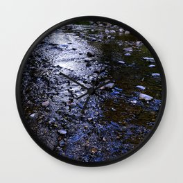 In The Stream Wall Clock