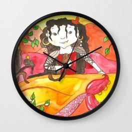 Mermaid Rosalinda Wall Clock
