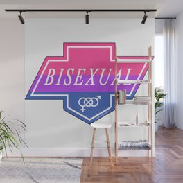 Identity Stamp: Bisexual Wall Mural
