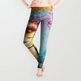 Unstrained Afro Blue Leggings