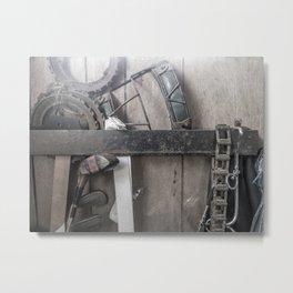 Portico Curio Metal Print