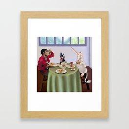 Boston Tea Party Framed Art Print