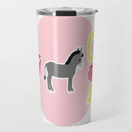 Kiss My Ass Endometriosis - Commissioned Work Travel Mug