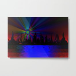 Dreaming all around the world ... Metal Print
