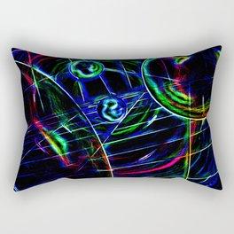 Abstract perfektion 85 Rectangular Pillow