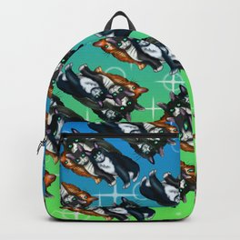 Dare to be Different Black Cats Backpack
