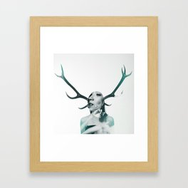DOUBLE EXPOSURE POJECT // CLEMENTINA Framed Art Print
