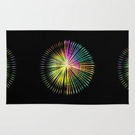 ...a simple kind of abstract mandala Rug