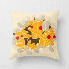 Cubismoon Throw Pillow