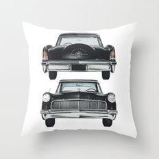 Front and back Throw Pillow