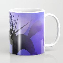 mooncats in a foggy night Coffee Mug
