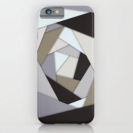 Rotating Geometric Layers iPhone Case