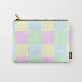 Pastel Blocks Carry-All Pouch