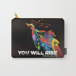 The Phoenix   You Will Rise Carry-All Pouch