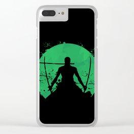 Roronoa Zoro Clear iPhone Case