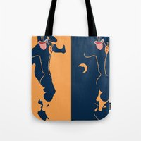 cyclops Tote Bags featuring Cyclops by Young Jake