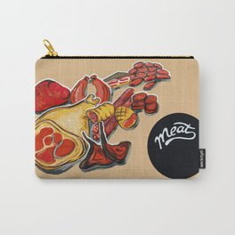 Red meat Carry-All Pouch