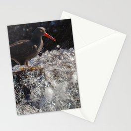 Standing before the Wave Stationery Cards