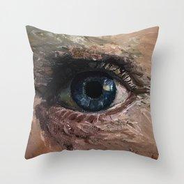 Eyesight Throw Pillow