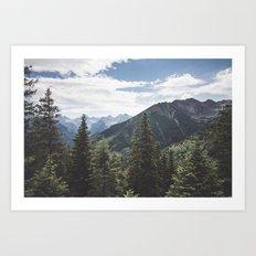 Tatra Mountains Art Print