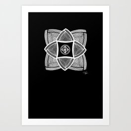 Mimbres Series - 11 Art Print