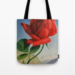 Fresh Red Rose Tote Bag