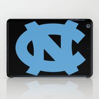 north carolina iPad Cases featuring NCAA - North Carolina Tarheels by Katieb1013